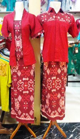 Batik Emboss Pasangan Tersedia di ITC Permata Hijau. Foto: dokpri