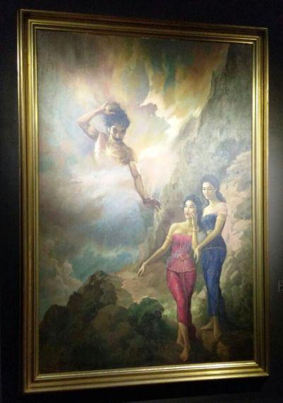 Gatotkaca dengan Anak-anak Arjuna, Pergiwa dan Pergiwati