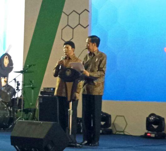 Presiden Jokowi dan Pak Ari Dono