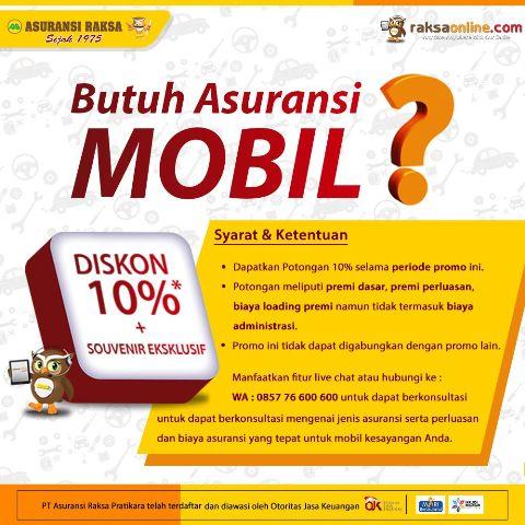 Raksa Online Asuransi Mobil