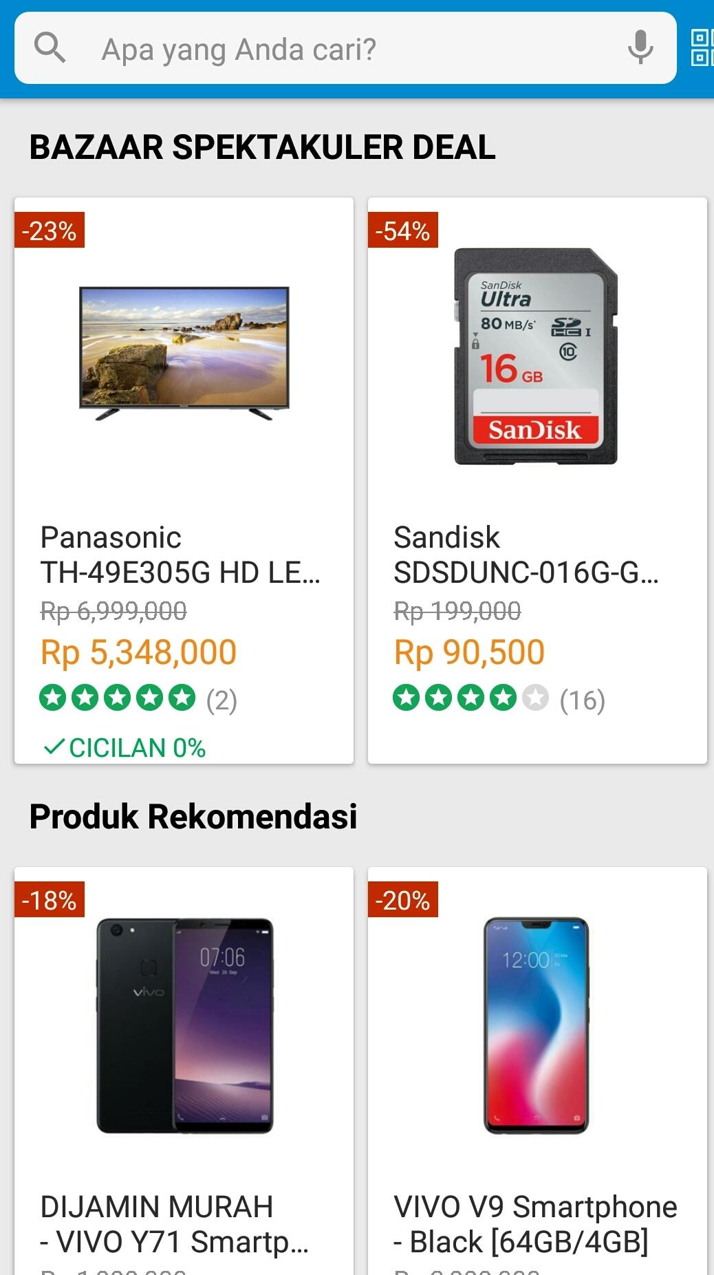 Online Shop Blibli