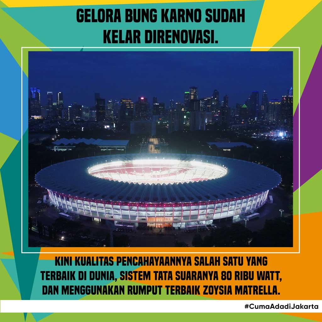 Persiapan Asian Games 2018 di Indonesia