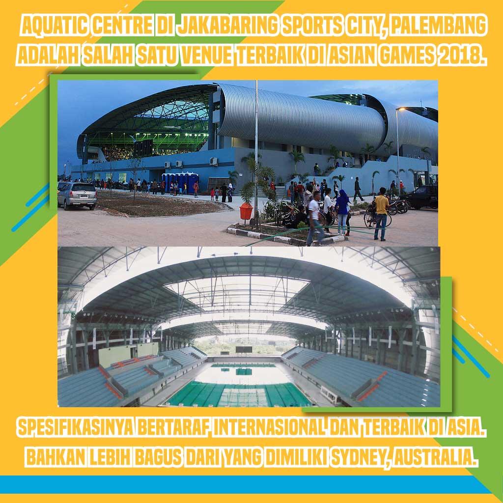 Persiapan Asian Games 2018 di Jakarta