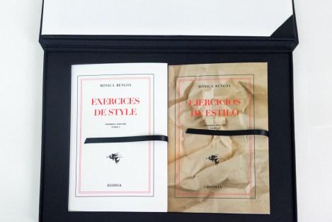 Publicación Exercices de Style / Ejercicios de Estilo