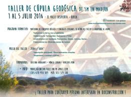 Taller del 1 al 5 de julio en Ávila