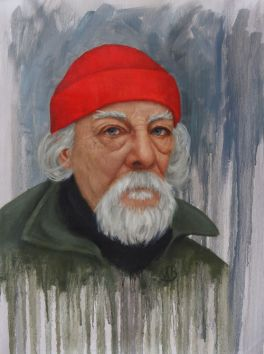 "Portrait. 18""x24"" oil painting. Not for sale."
