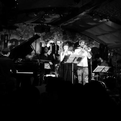 PoeTrips & The Blue Bus Band, Jamboree Jazz Club, Septiembre de 2012.