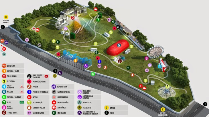 rock in rio lisboa plan