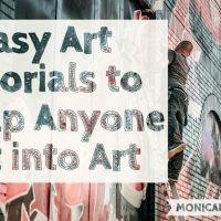 7 Easy Art Tutorials to Help Anyone Get into Art | Why Do Art Bonus