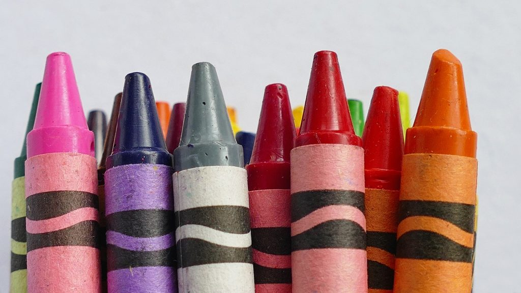 Crayons art tutorials