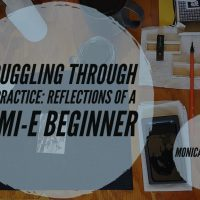 Struggling through Art Practice: Reflections of a Sumi-e Beginner