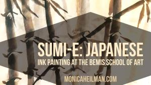 Sumi-e Japanese Ink Painting