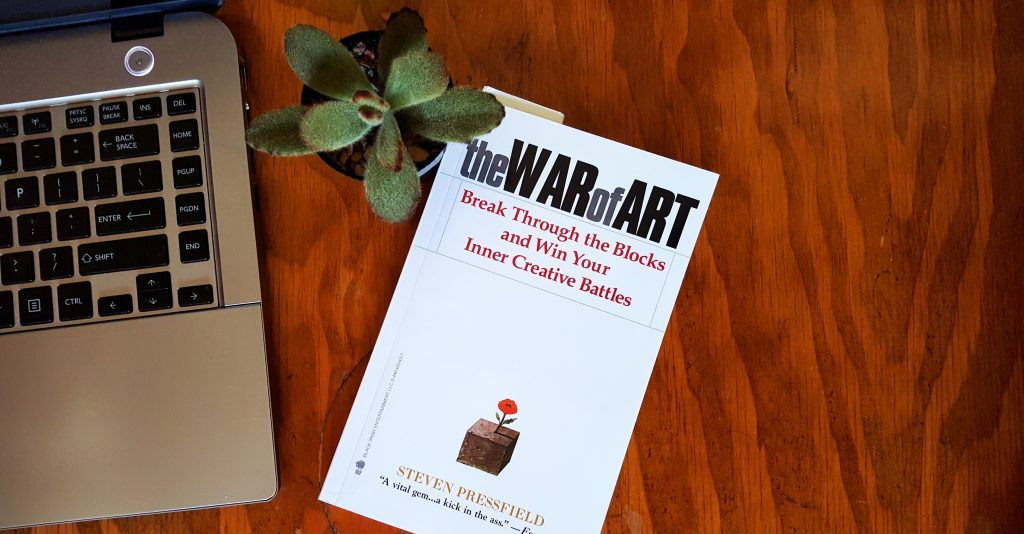 Short burst books 2: The War of Art by Steven Pressfield