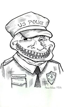 Ferguson Police Troll Meme