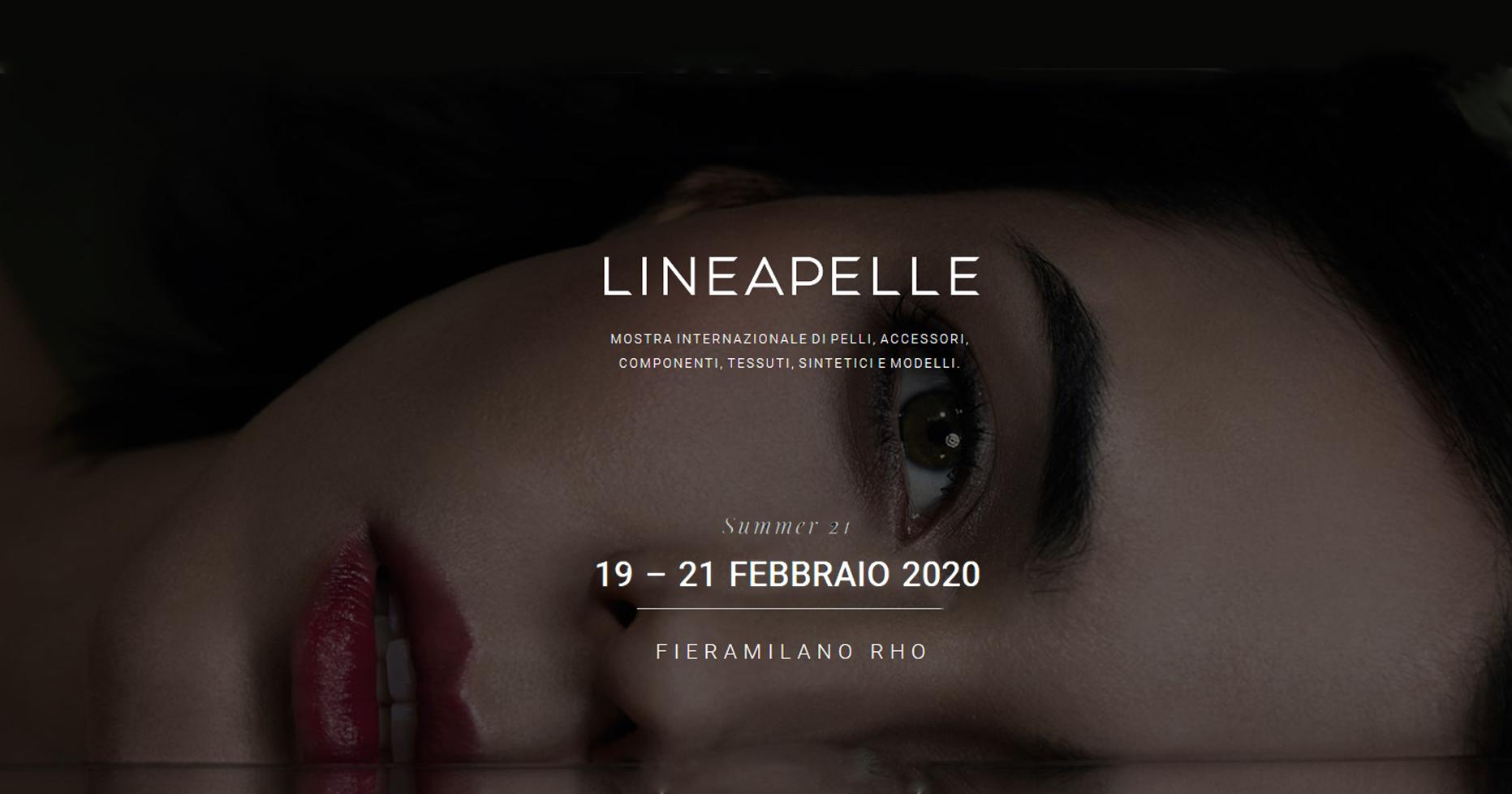 Linea Pelle Lineapelle 2020 Fiera Milano Rho Hotel Monica