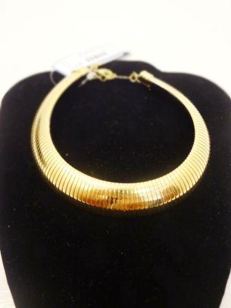 Gold Choker - $34.00
