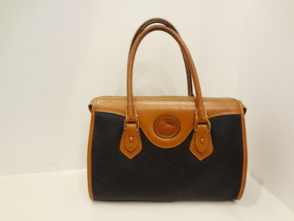 Dooney and Bourke Navy/Brown - $79