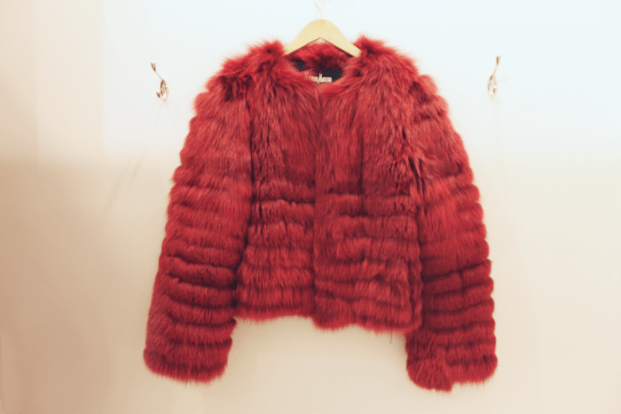 Zandra Rhodes (from Neiman Marcus) Red Fox Coat - $1500.00