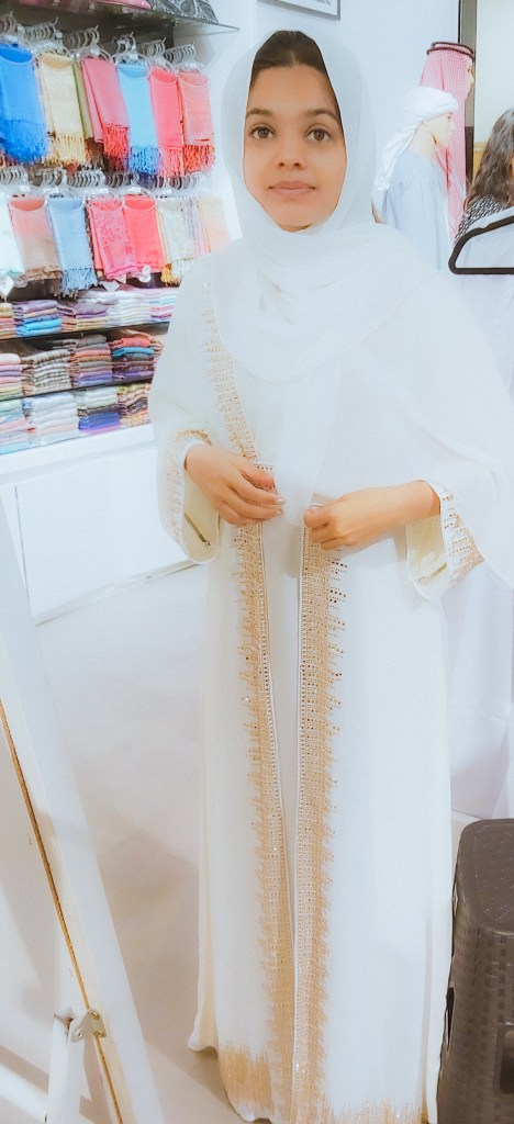 Shopping for an Abaya