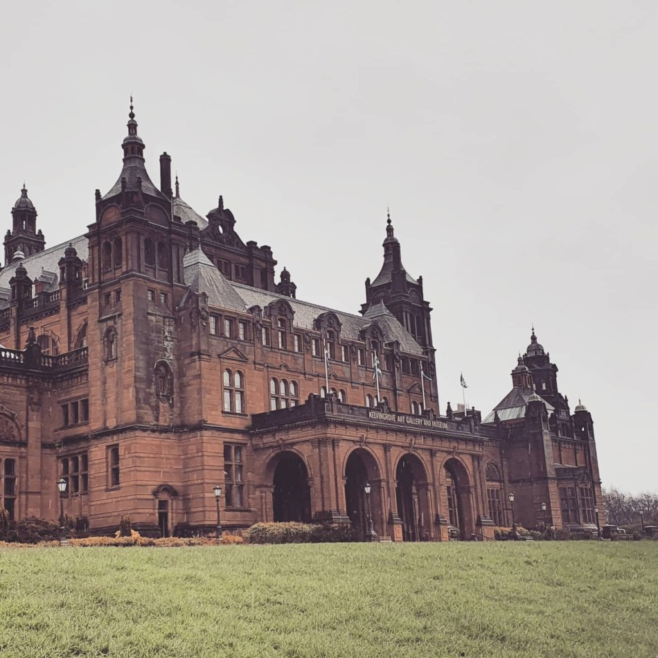 Spanish Baroque Style Architecture in Kelvingrove Art Gallery and Museum