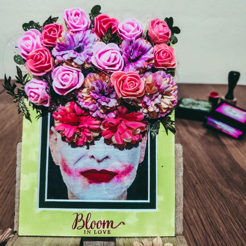 wall art she blooms