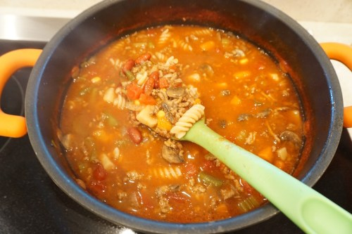 """Grandma's Quick and Easy """"Pantry Soup."""""""