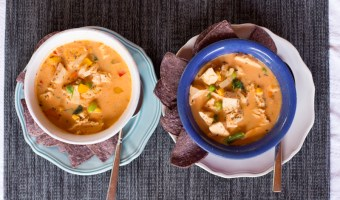 Thai Peanut Chicken Coconut Soup