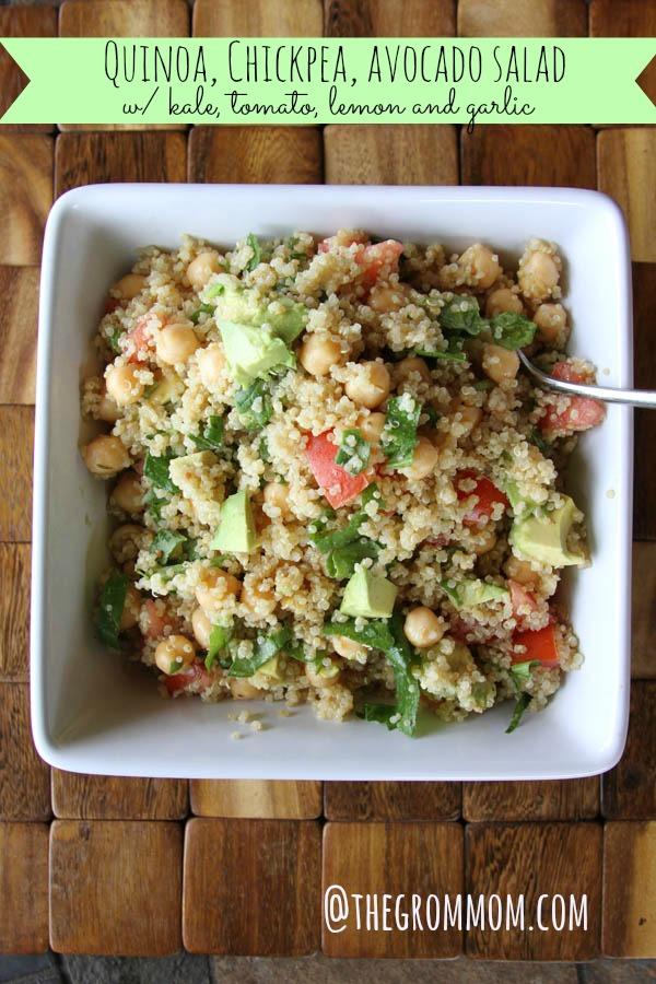 The yummiest, healthiest salad, at thegrommom.com