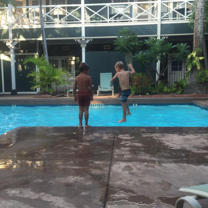 Levi pool at Pioneer Inn