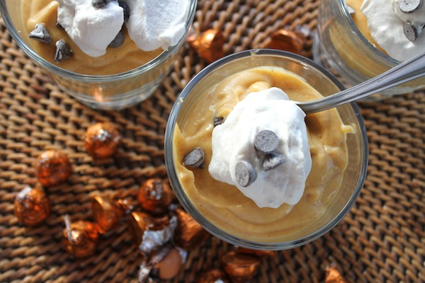 pumpkin pudding in under five minutes
