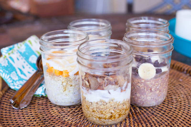 oatmeal jars