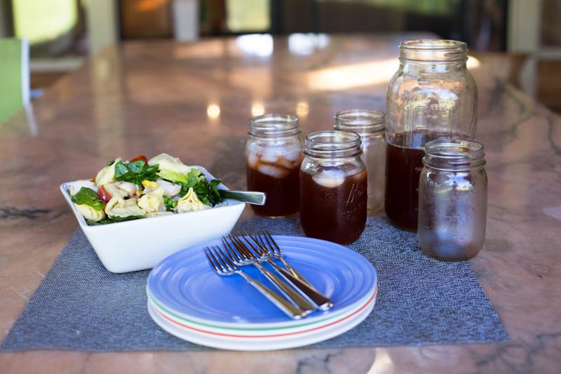 Summer dinner salad