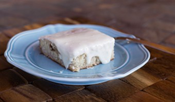The Best Banana Cake with Vanilla Bean Frosting