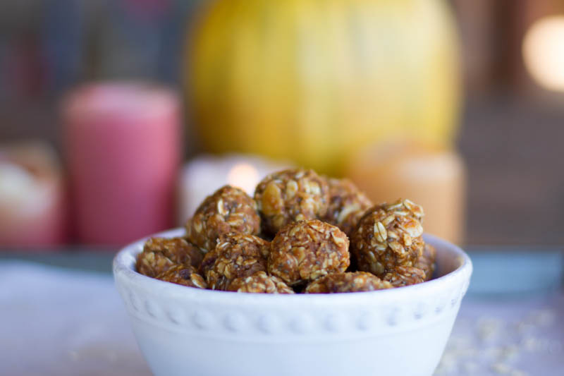 pumpkin/energy balls