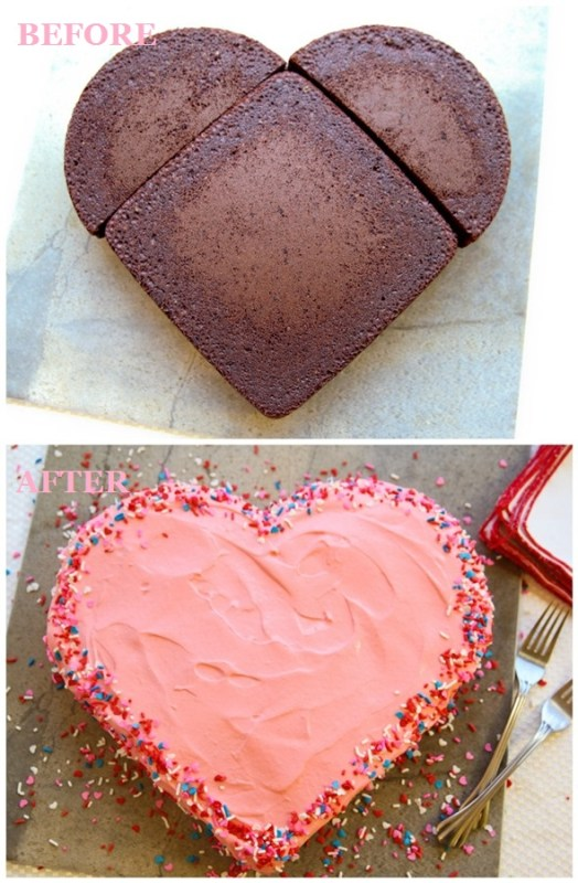 Make-a-Heart-Shaped-Cake-for-Valentines-Day-without-a-Heart-Pan