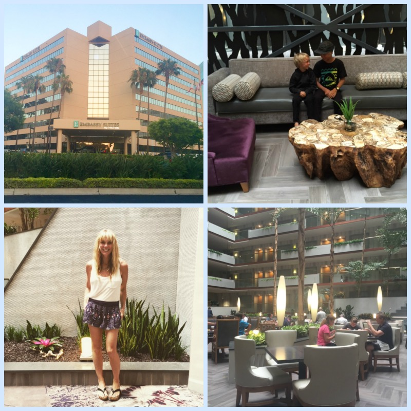 Embassy Suites collage