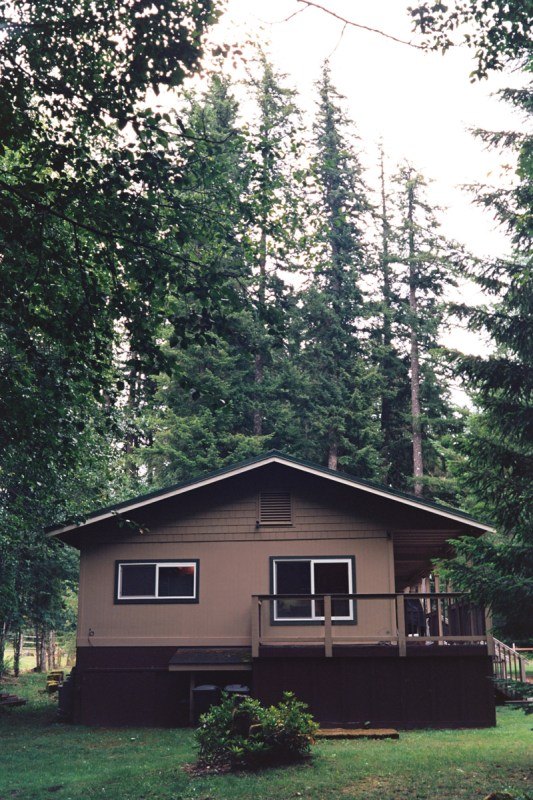Mt. Rainer Cabin shot