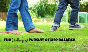 The Pursuit of Life Balance:  A Mini-Series