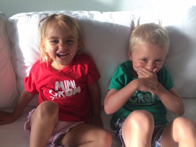 Levi and Ella