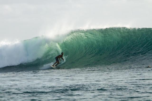 Jonah surfing INDO