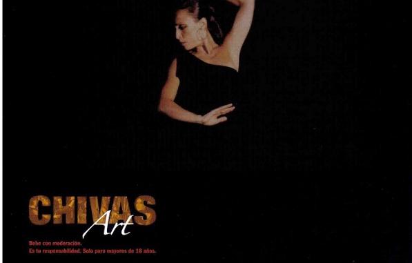 Premio Chivas Art 2005 en Danza para Mónica Tello en el palacio de María Luisa en Sevilla