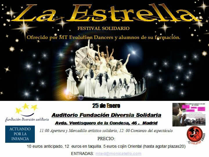 Gala de Danza Diversión Solidaria, Actuando por la Infancia y Woman Empowerd