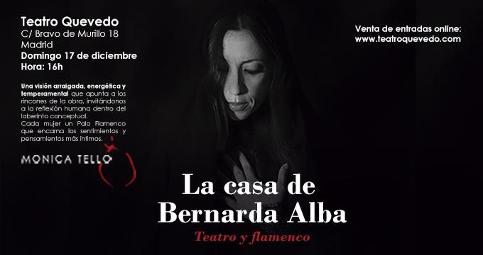 Preestreno del espectáculo, La casa de Bernarda Alba, Teatro y Flamenco