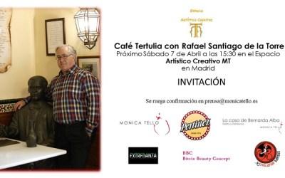 Café Tertulia con Rafael Santiago en el Espacio Artístico Creativo MT