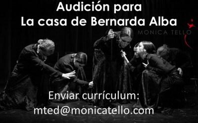 Audición para la Casa de Bernarda Alba Teatro y Flamenco
