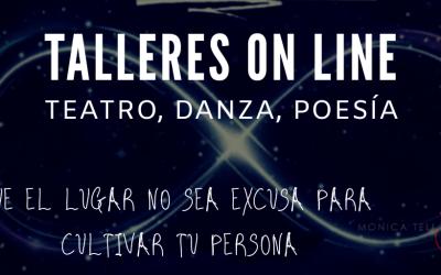 Talleres online. Teatro, danza, flamenco y poesía