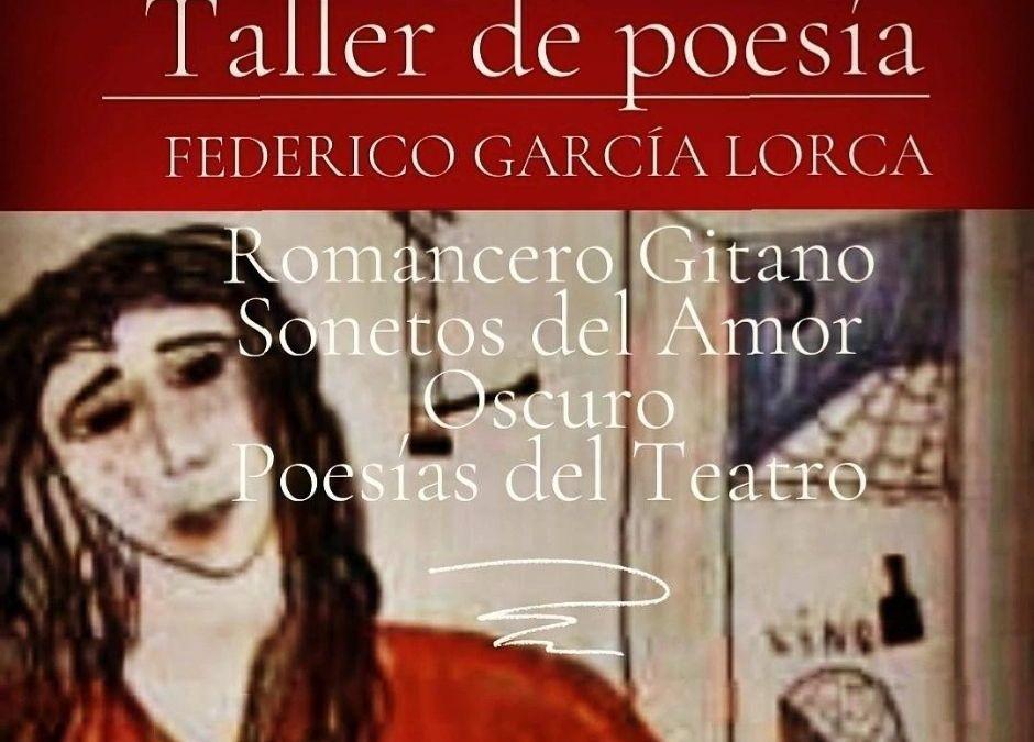 TALLER ONLINE POESÍA DE FEDERICO GARCÍA LORCA