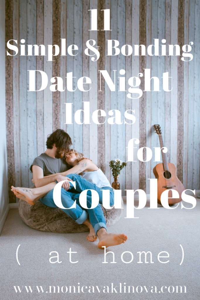 11 simple & bonding date night ideas for couples at home