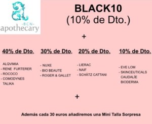 monica-vizuete-descuentos-black-friday-bcn-apothecary