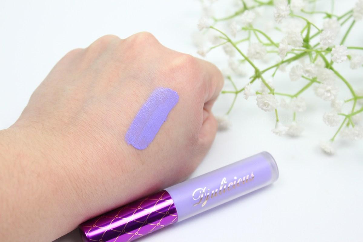 Swatches-djulicious-lipstick-dulcematte-monica-vizuete-lilaclove